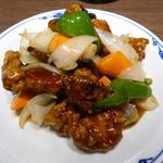 China hata 36 - 5種の酸味の酢豚