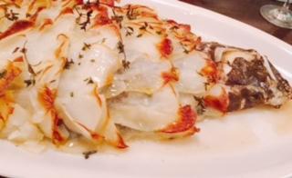 モトマチ ティモ - 産地直送!鮮魚のまるごと一匹 ポテトのつつみ焼き