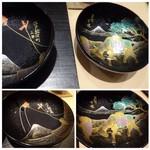 銀座 よし澤 - ◆蓋裏の蒔絵が素晴らしい・・