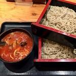 Ajimen - 《トマトつけ汁蕎麦》880円(税別)