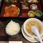青冥 - 華御膳☆★★☆御飯 玉子スープ