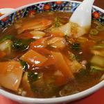 クォウライ - 広東麺  750円