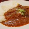 ブラウニー - 料理写真:牛すじカレーごはん