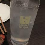 炭火焼 蕾家 - レモンサワー