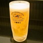 南海そば - 生ビール