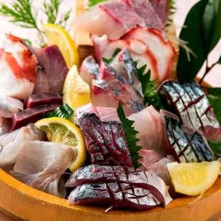 市場直送の新鮮鮮魚!