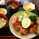 カフェテラス - 料理写真:からあげ定食