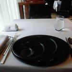 レストラン マノワ - テーブルセッティング(2017.3)