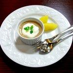やさい食堂 七福 - アールグレイプリン(単品価格350円)
