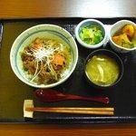 やさい食堂 七福 - 七福丼のセット