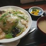 金子屋 - 料理写真:海鮮中華丼