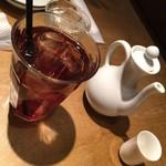 望陀餃子楼 - ジャスミンティー、紹興酒