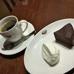 ピエール・マルコリーニ - マルコリーニ チョコレートガトー ドリップ コーヒー
