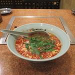元祖ニュータンタンメン本舗 - 料理写真:ニラ入りタンタンメン(大辛、麺固め)