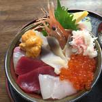 65062859 - 逢海丼+ウニ。