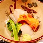 65068511 - 【お造】○鮃、真イカ、サヨリ、赤貝様