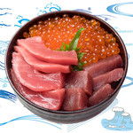 海鮮丼の浦島 - 【いくら・本まぐろ・中トロ】