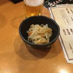 串しん坊 - お通しの切干大根!