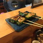 串しん坊 - 肉詰めピーマン