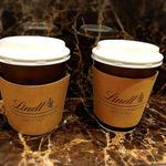 リンツ ショコラ カフェ - ホットミルクチョコレート