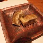 すし瀬名波 - 真牡蠣のスモーク