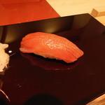 すし瀬名波 - ホンマグロ赤身