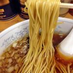 一麺 - ラーメン650円(麺)