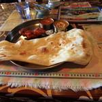 インド料理 ガンダァーラ - メジャーで測ってみた