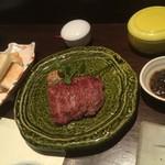 まある - 黒毛和牛サーロインステーキ(150g)5500円