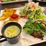イタリア料理 レガメント - ランチのプレートset【料理】