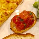 イタリア料理 レガメント - トマトは大変美味しいです【料理】