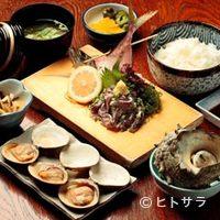 魚見亭 - 秋の魚をご賞味ください