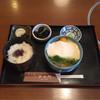 ぎお門 - 料理写真:山掛け蕎麦 定食  ¥1330