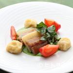 ル・ピラート - 『鰊の燻製と筍のミルフィーユ』