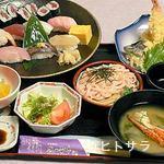 磯の香亭 - すし御膳 2100円