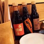 地魚屋台 とっつぁん - 1704_地魚屋台 とっつぁん 福島本店_醤油はこだわりのチョイ甘長崎醤油で!