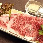 高木屋焼肉店 - 特選国産牛ロース