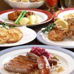 ミュンヘン - お酒のお供に料理の数々
