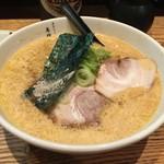 萬珍軒 - 玉子とじラーメン・醤油(700円)