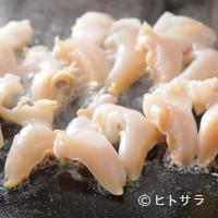 たあとる - ツブ貝のバター焼き