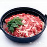 奈良田本店 - 名物天然猪の猪鍋