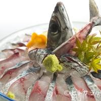 いけすやまもと - とびきり新鮮だからこそ味わえる美味『泳ぎサバ活造り』