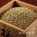 手打ちそば 松月庵 - 北海道産を主に各地の粉を独自でブレンドした「国産蕎麦粉」