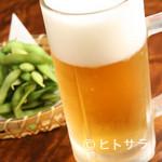 足柄古道万葉うどん - 緑の中で味わうビールは格別!