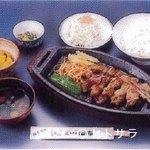 鳥料理 由布 - 由布焼定食