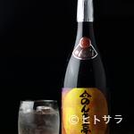 のんき亭 - 店名を冠した焼酎『のんき亭』は、すっきりした口あたり