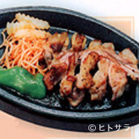 鳥料理 由布 - 由布焼(地鶏)