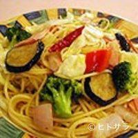 木のぴーHouse - ベーコンと野菜のスパゲティー