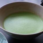 虎屋菓寮 - 抹茶