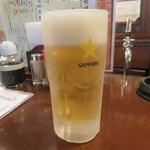 あきよし - 生ビール